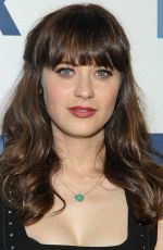 Zooey Deschanel At Party In West Hollywood