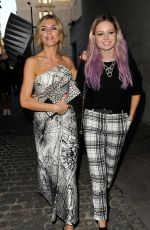 Abbey Clancy Arriving To The KTZ Show At Somerset House