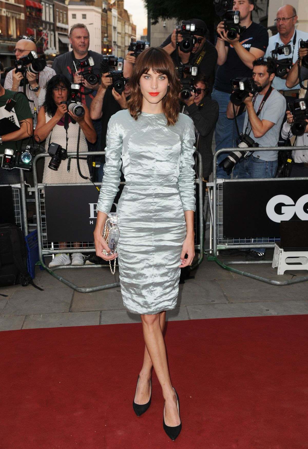 Alexa Chung At GQ Men Of The Year Awards