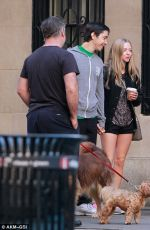 Amanda Seyfried Runs Into Alec Baldwin In NYC