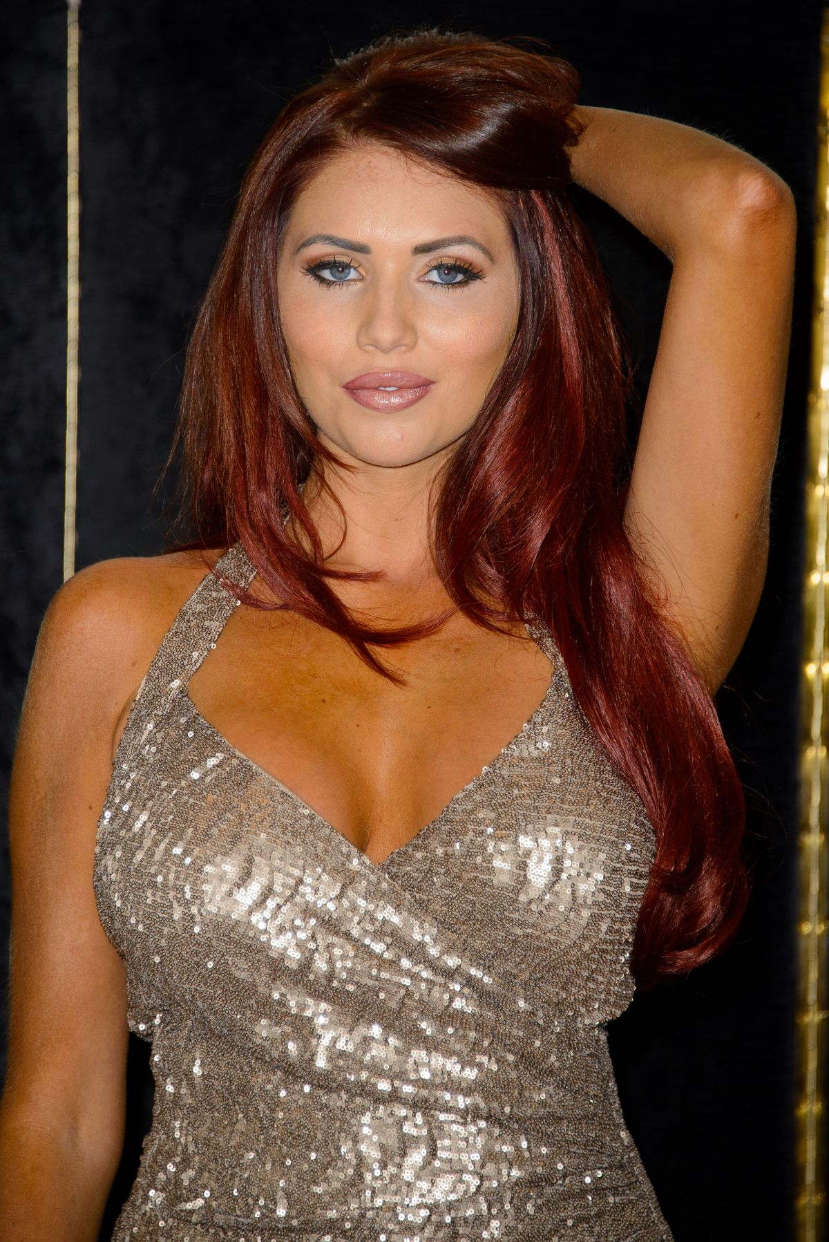 Amy Childs At Launch Of Her Clothing Line In London
