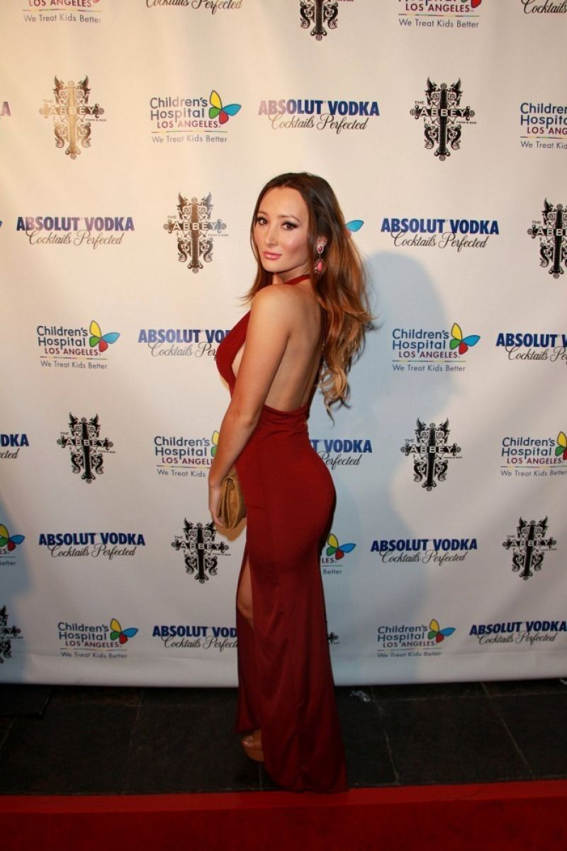 Amy Markham At SBE's 'Christmas In September' Red Carpet Charity Event In West Hollywood