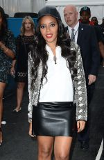Angela Simmons Arrives At Charlotte Ronson Fashion Show