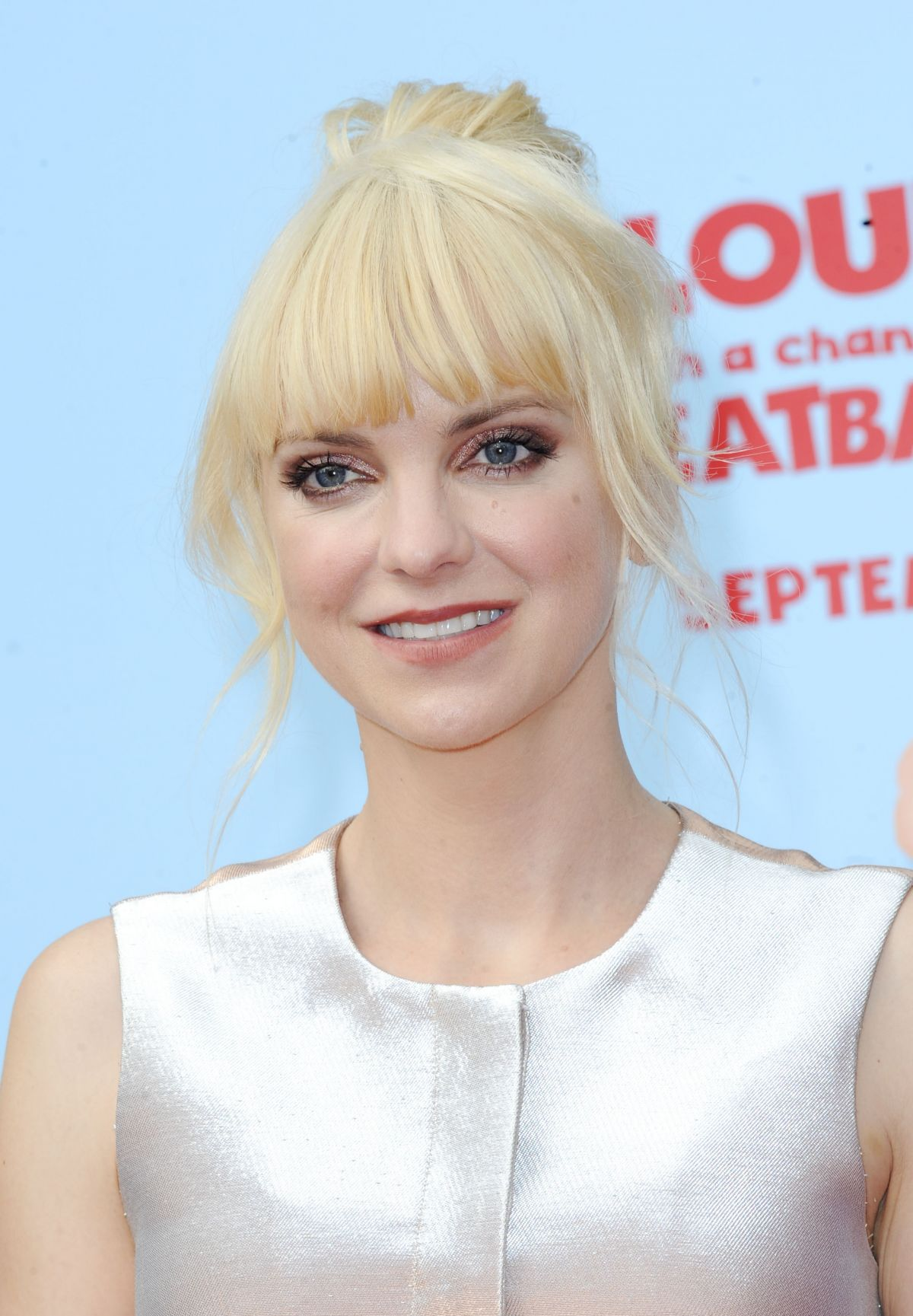 Anna Faris At The Premiere Of Cloudy With A Chance Of Meatballs 2 In LA