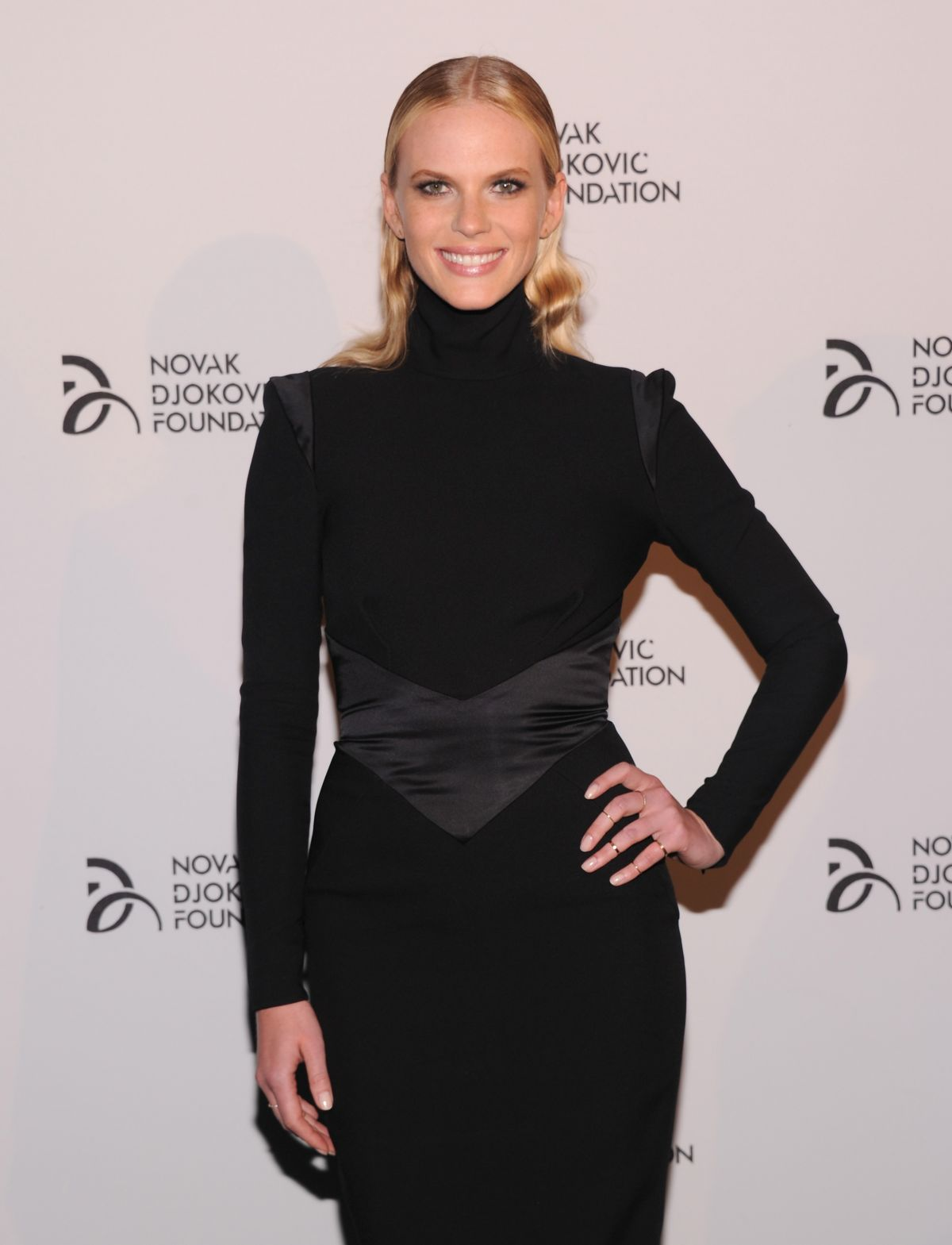 Anne Vyalitsyna At The Novak Djokovic Foundation Dinner At Capitale In NYC