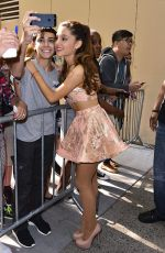 Ariana Grande At  Live! With Kelly And Michael Show