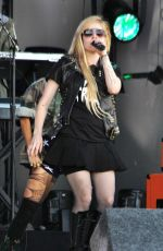Avril Lavigne At The Jimmy Kimmel Live Show In Hollywood