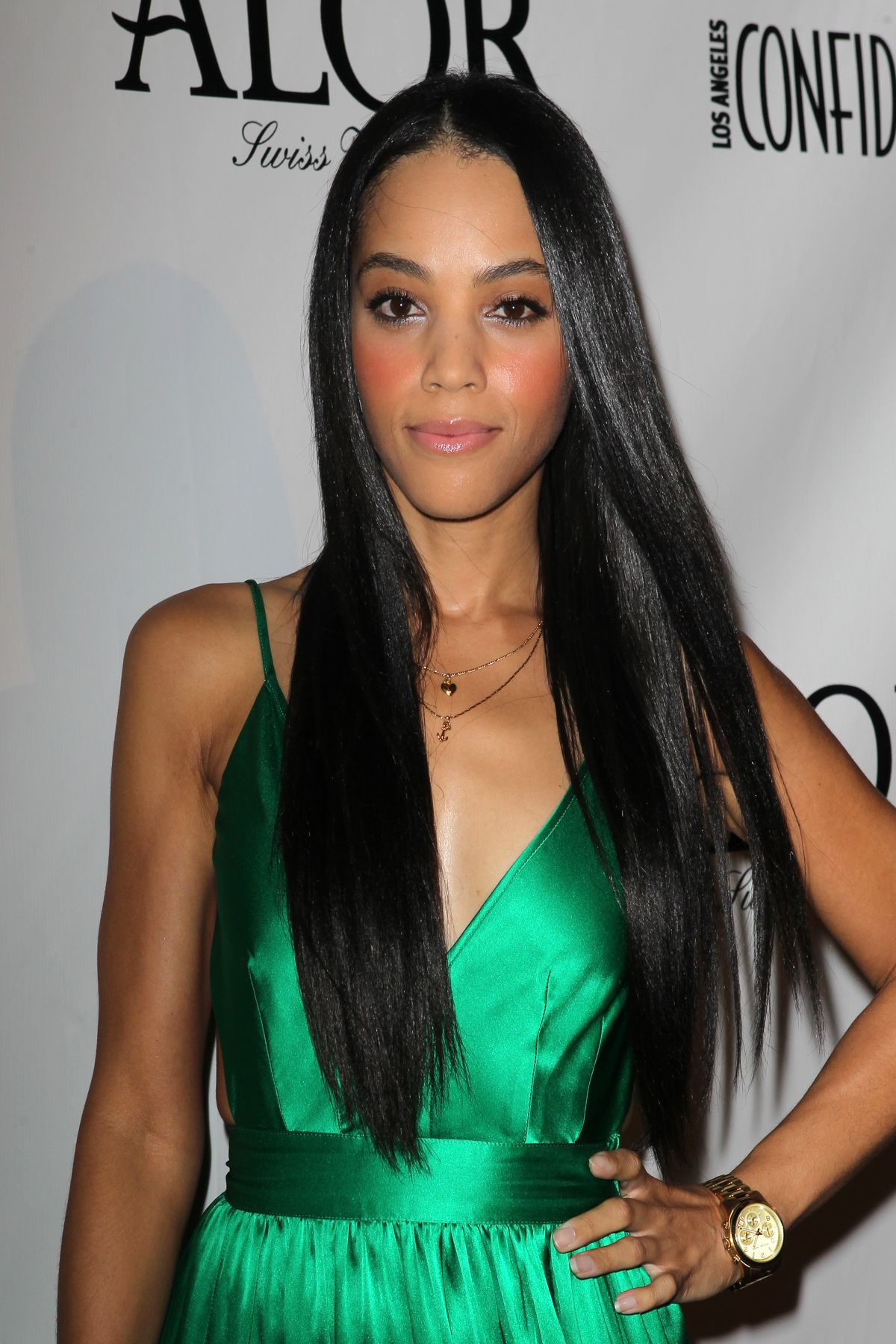 Bianca Lawson At The Los Angeles Confidential Magazine