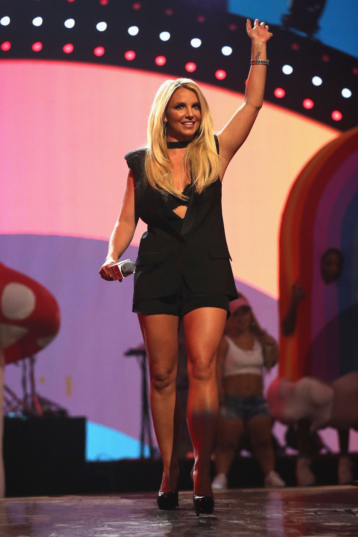 Britney Spears At iHeartRadio Music Festival In Las Vegas ... Britney Spears Las Vegas