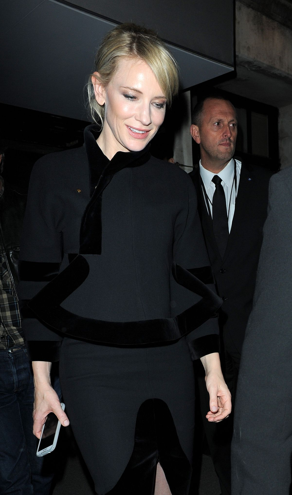 Cate Blanchett Leaving The Tom Ford Show In London