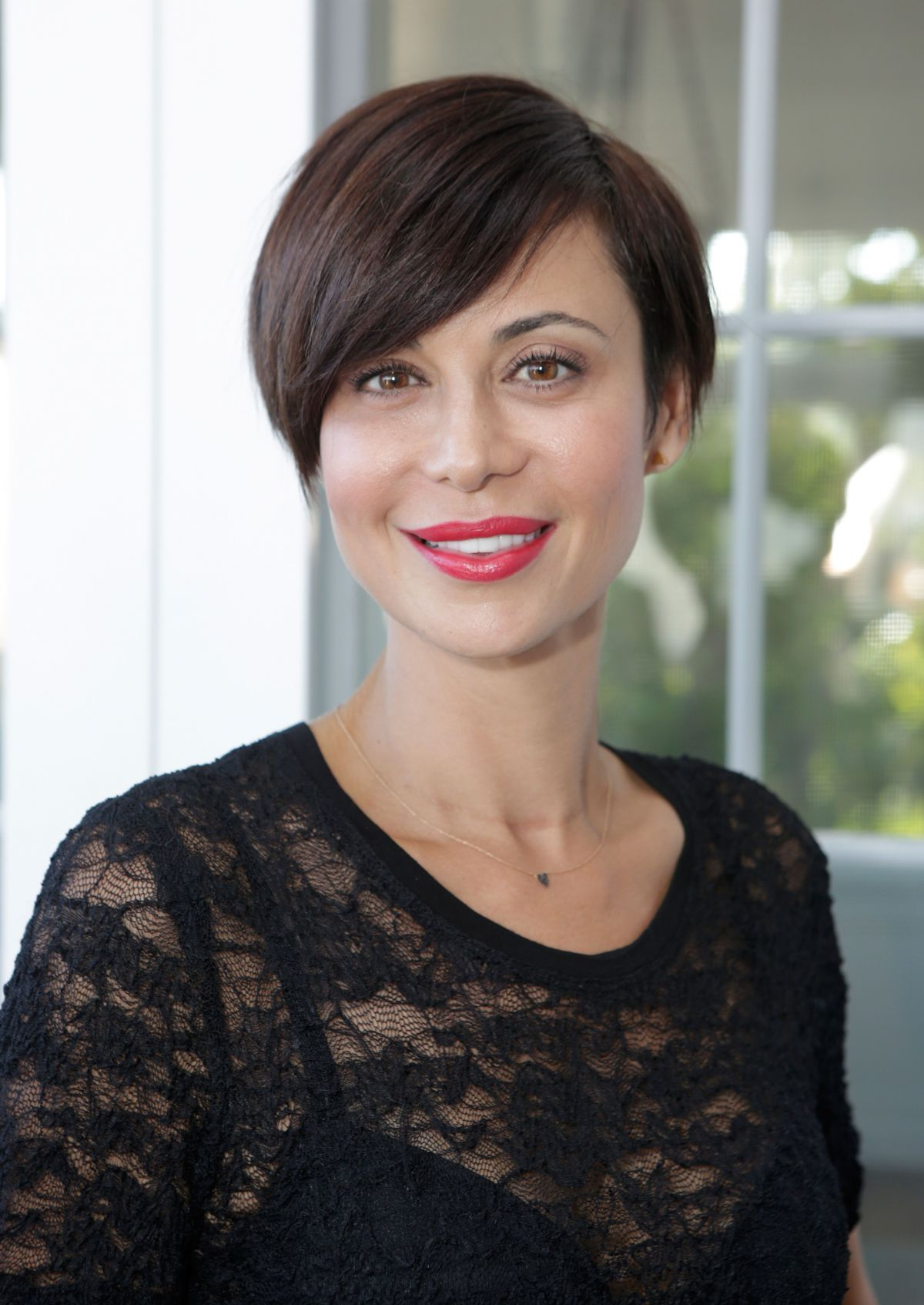 Catherine Bell At EBMRF And Heal EB Rock Fundraiser In Malibu