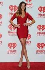 Courtney Bingham At The iHeartRadio Music Festival In Las Vegas