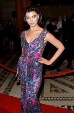 Crystal Renn At New Yorkers For Children Fall Gala In NYC