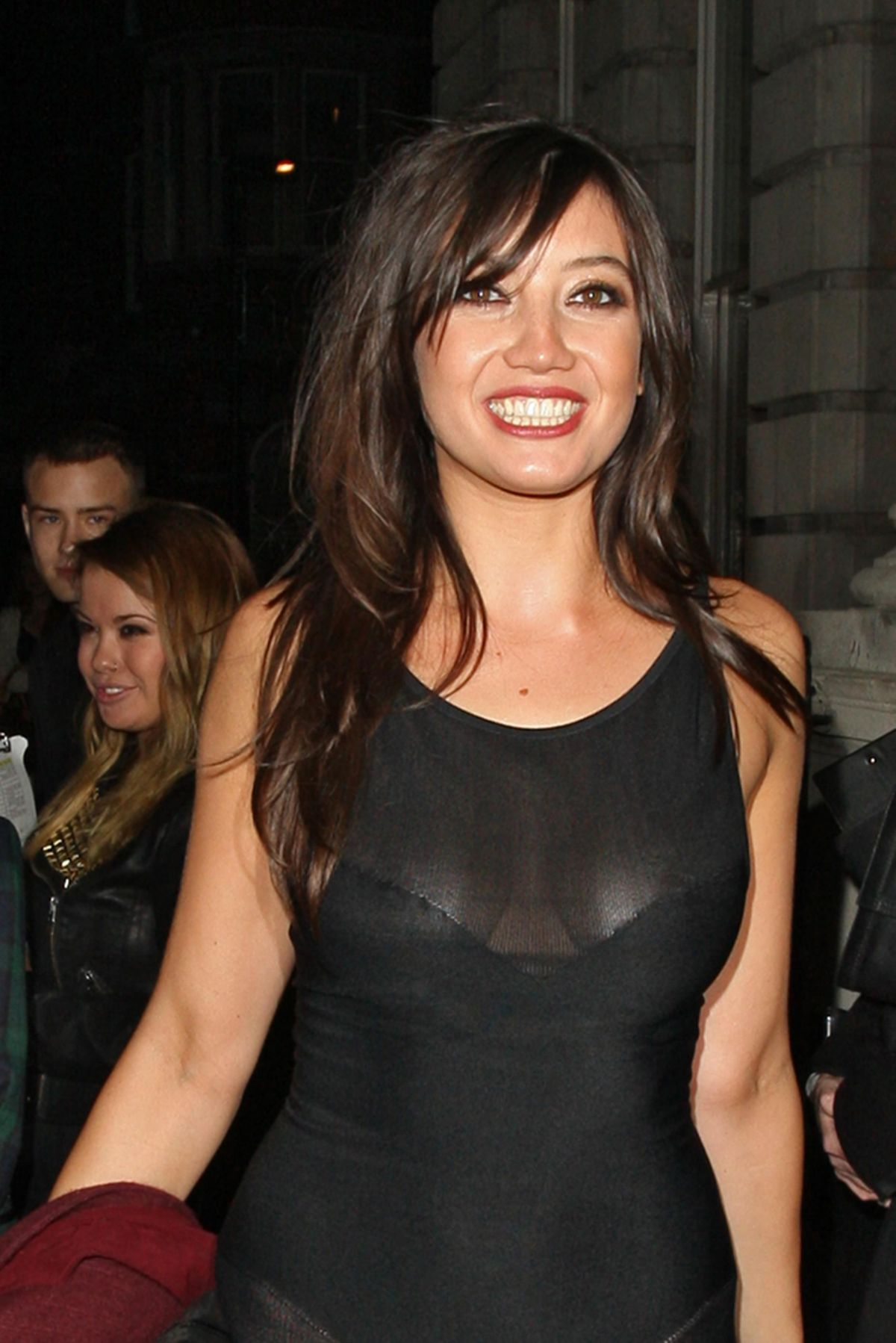 Daisy Lowe At W Magazine Dinner At Fashion Week In London