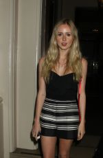 Diana Vickers Seen At The Spectacle Wearer Of The Year Awards In London