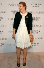 Drew Barrymore At The Estee Lauder Modern Muse Fragrance Launch Party In NYC