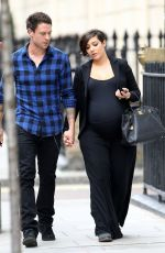 Frankie Sandford Out In London