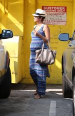 Halle Berry Running Errands In LA
