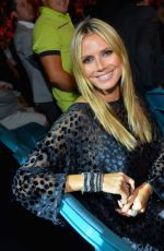 Heidi Klum At The Mayweather Jr. vs Alvarez Boxing Match In Las Vegas