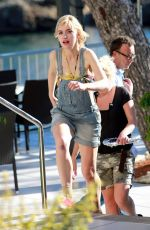 Imogen Poots On The Set Of Long Way Down In Spain