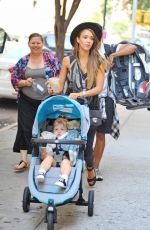 Jessica Alba Out In New York