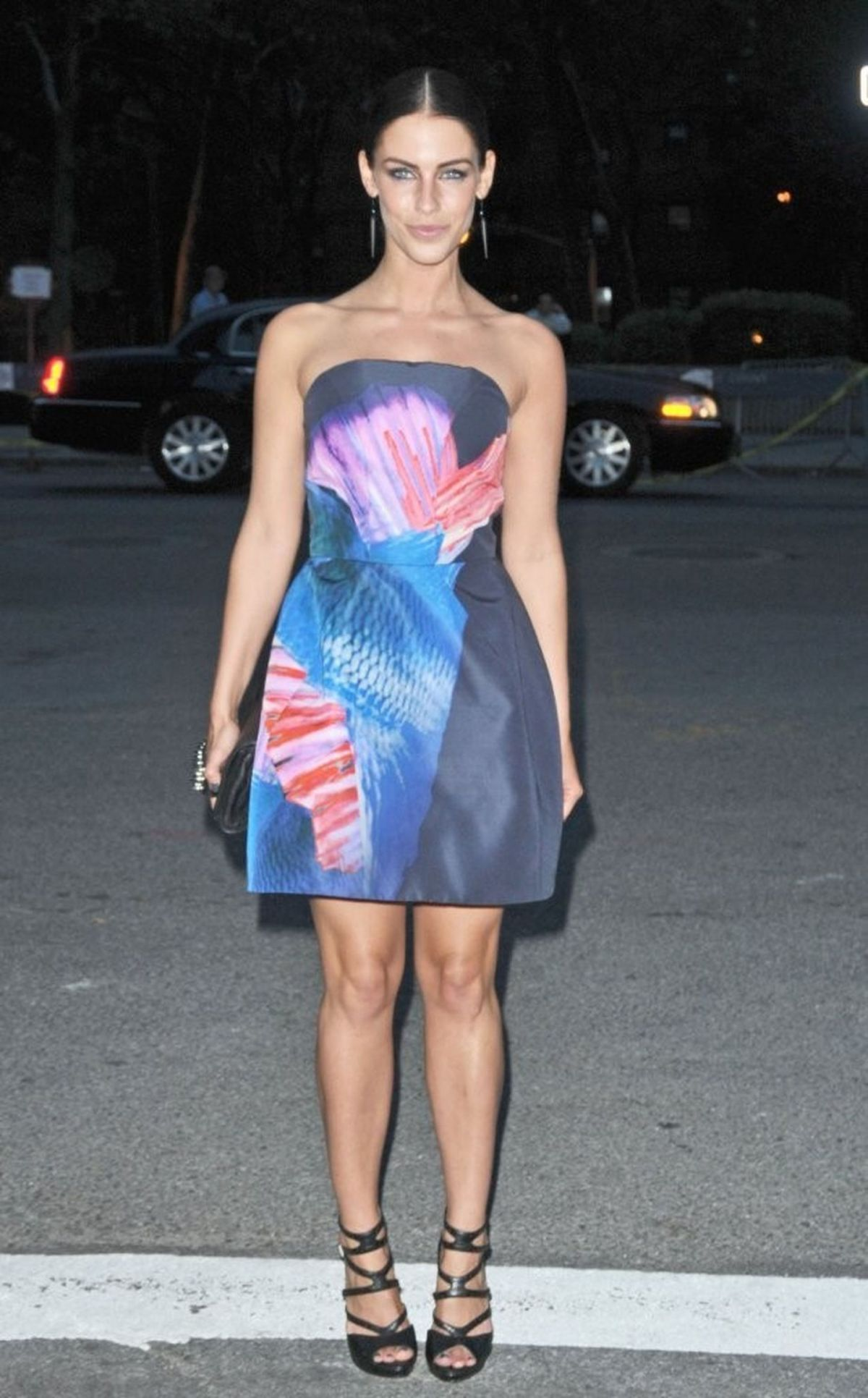 Jessica Lowndes At Mercedes Benz Fshion Week In New York