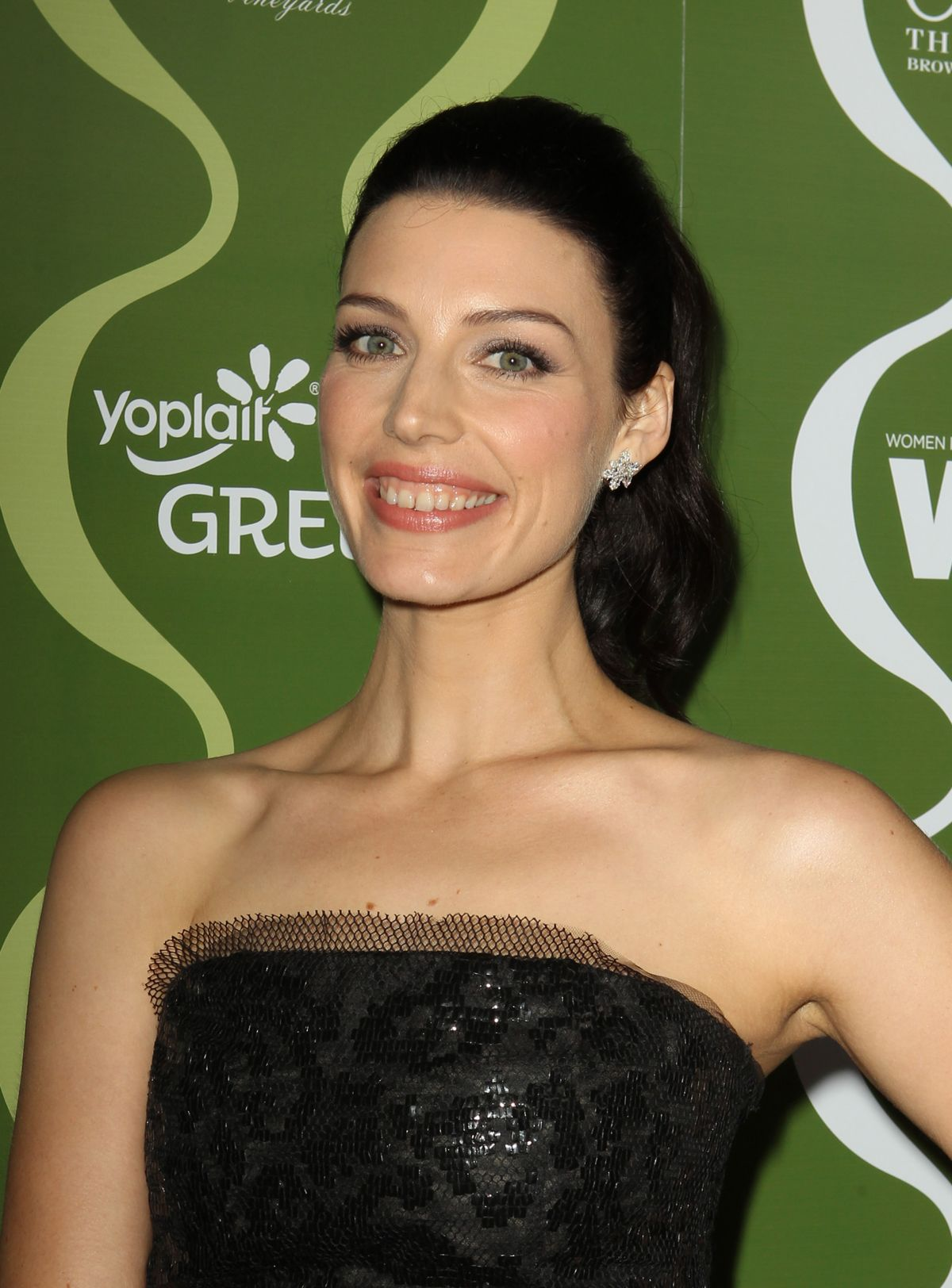 Jessica Pare At The Variety And Women In Film Pre-Emmy Party In Beverly Hills