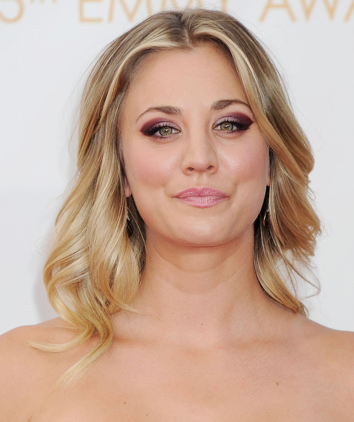 Kaley Cuoco At 65th Annual Primetime Emmy Awards