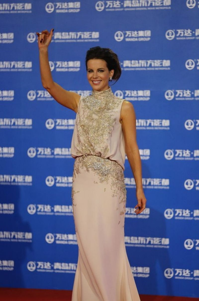 Kate Beckinsale At Qingdao Oriental Movie Metropolis Event In China