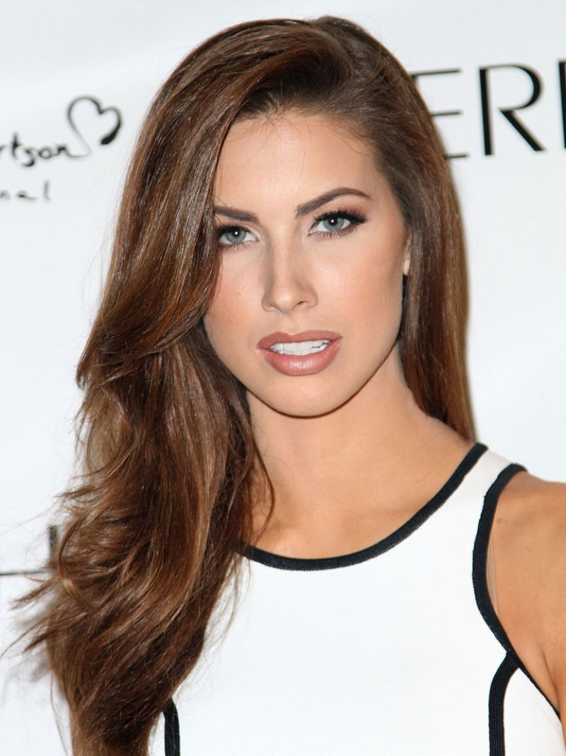 Katherine Webb At Evening By Sherri Hill Fashion Show In NYC