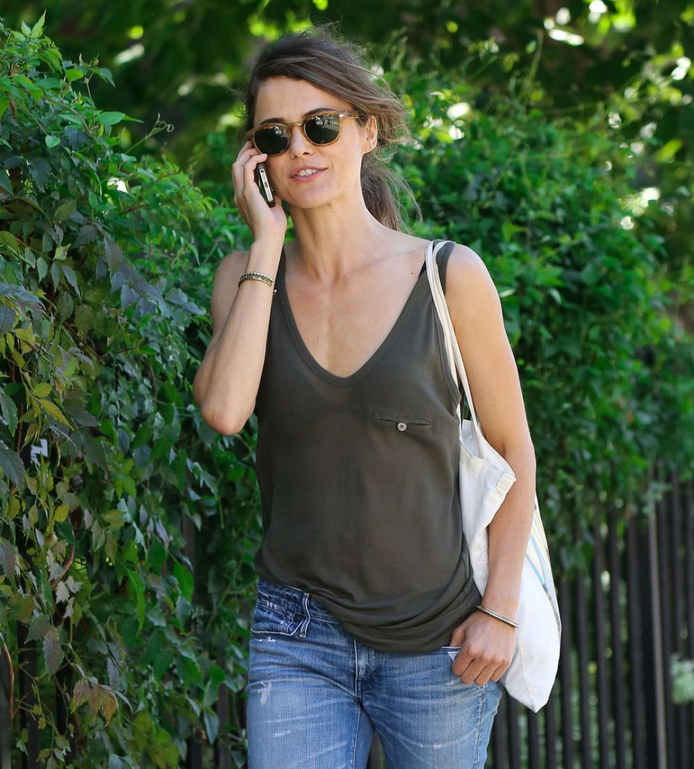 Keri Russell Out And About In New York