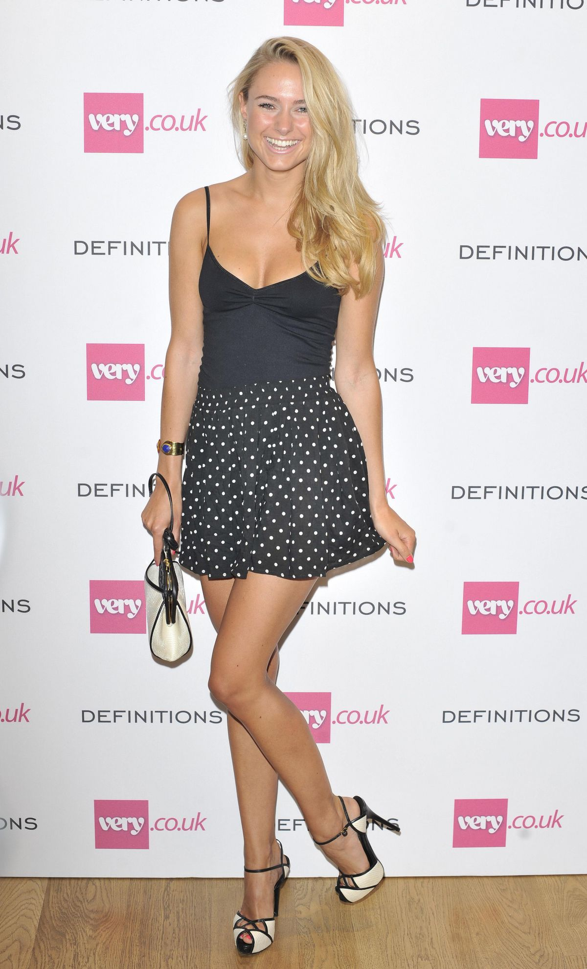 Kimberley Garner At Very Definitions Launch In London