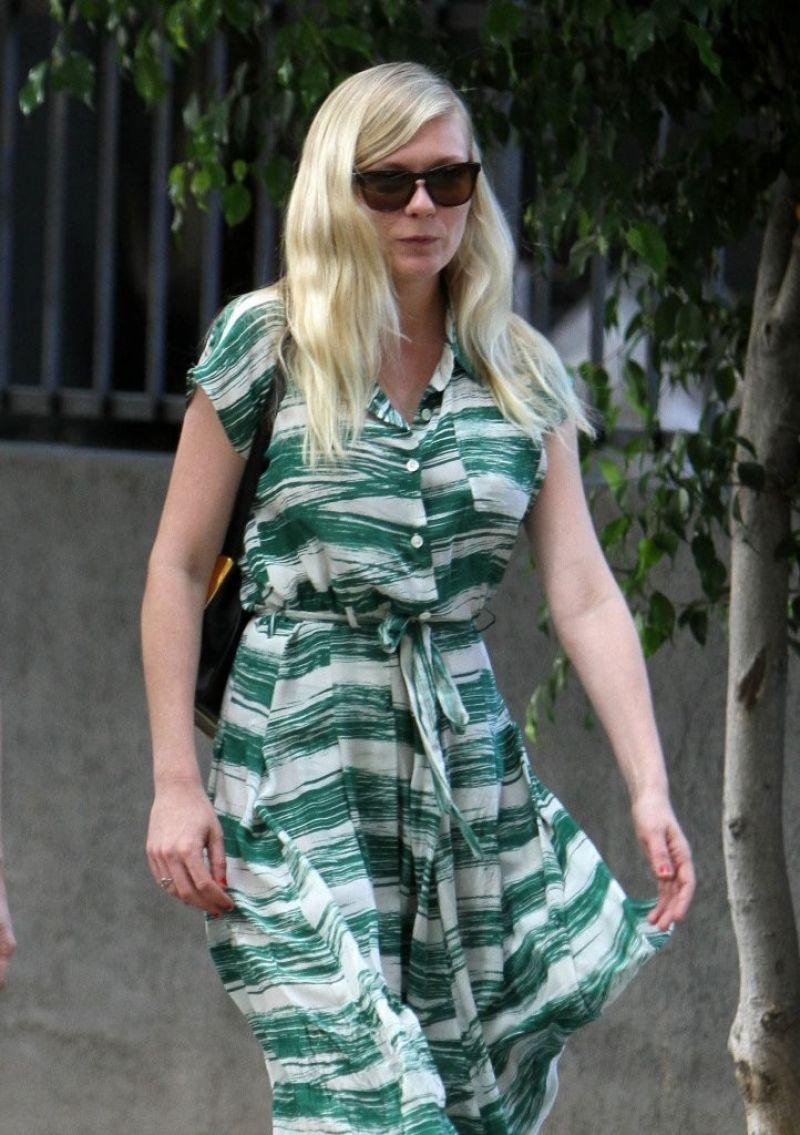 Kirsten Dunst Out in Silver Lake