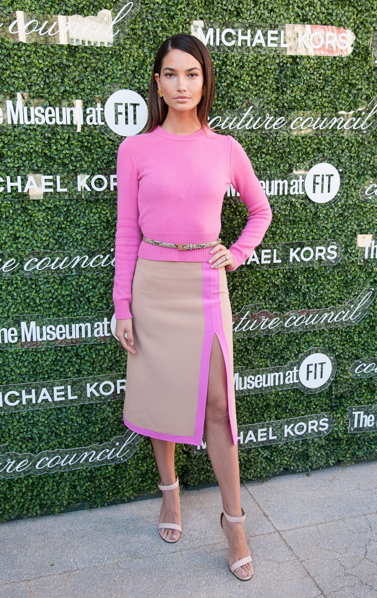 Lily Aldridge At 2013 Couture Council Fashion Visionary Awards In new York