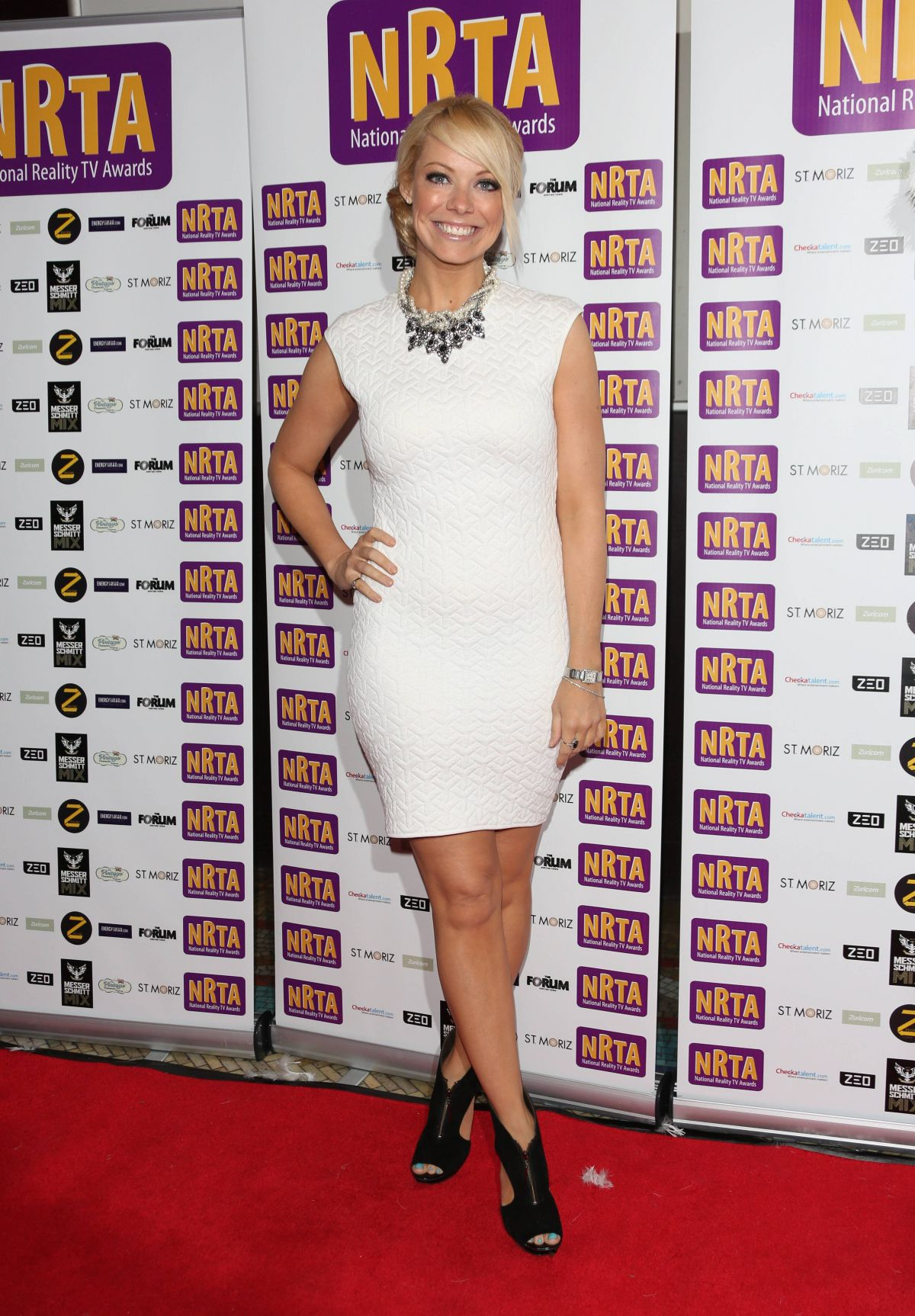 Liz McClarnon At National Reality TV Awards At The HMV Forum In London