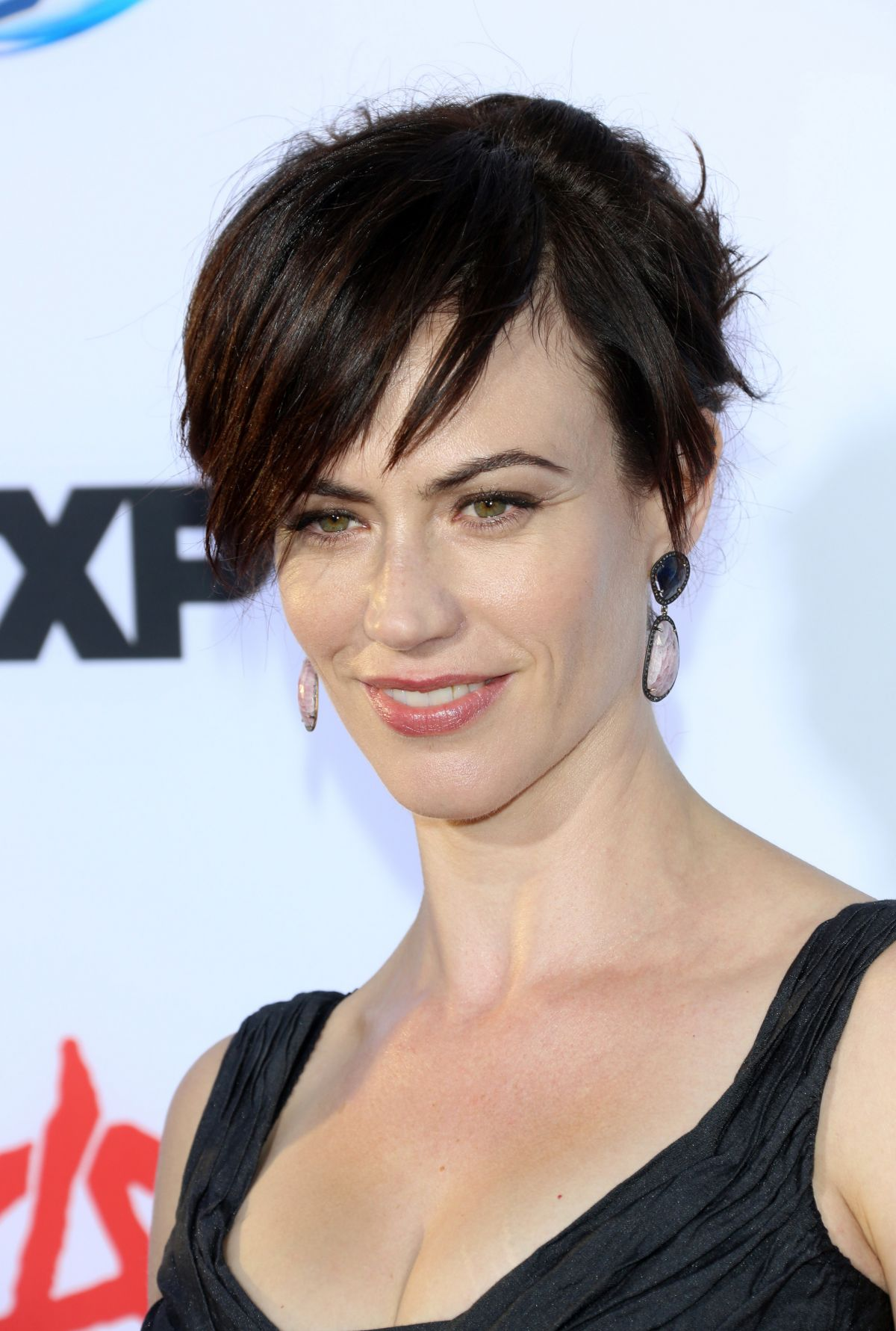 Maggie Siff At Sons Of Anarchy Season 6 Premiere In Hollywood    Maggie Siff Sons Of Anarchy Season 6