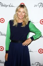 Maria Sharapova At 3.1 Philip Lim For Target Launch Event In NY
