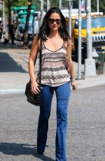 Olivia Munn Grabbing Some Iced Tea While Walking Though The East Village In New York City