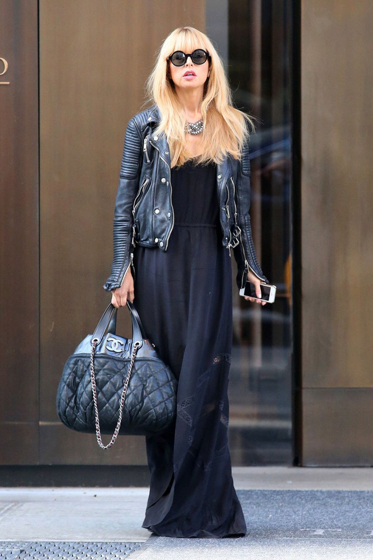 Rachel Zoe In Soho NYC
