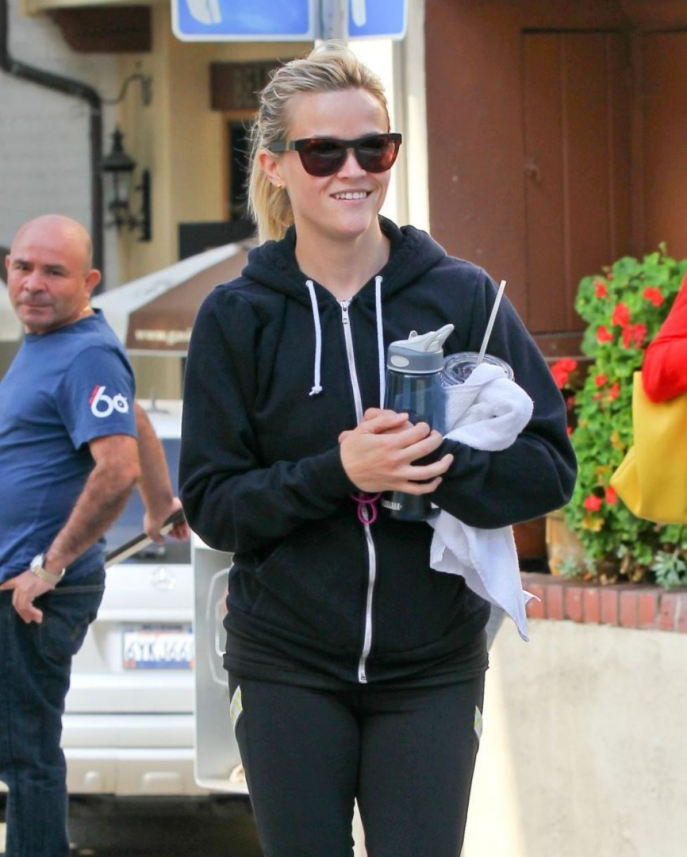 Reese Witherspoon Leaving The Gym In Brentwood
