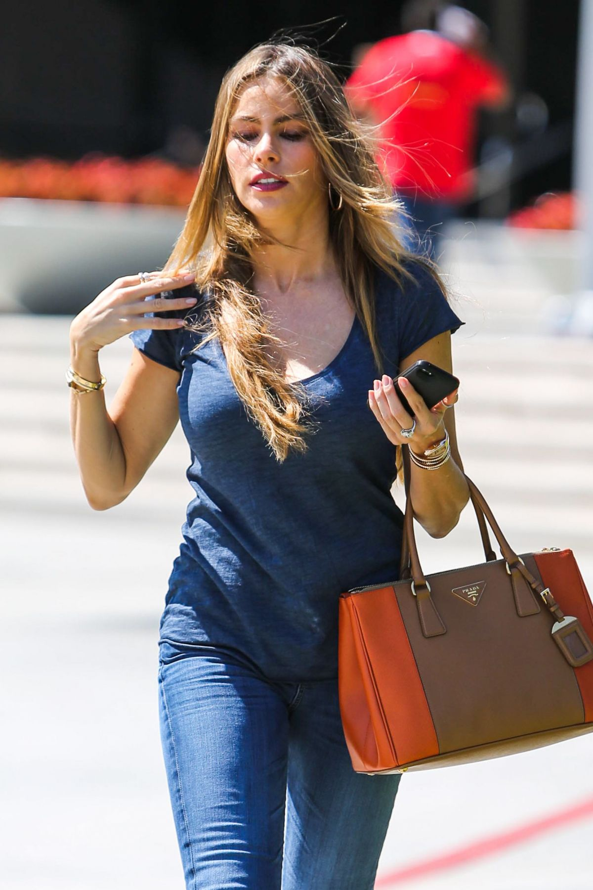 Sofia Vergara Outside Pacific Design Center In West Hollywood