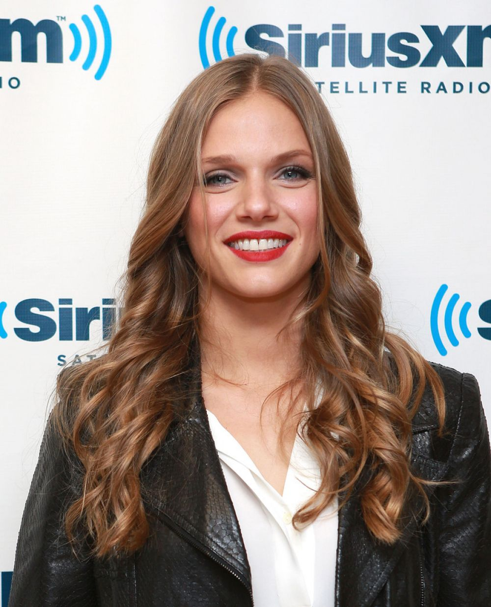 Tracy Spiridakos At SiriusXM Studios In NYC