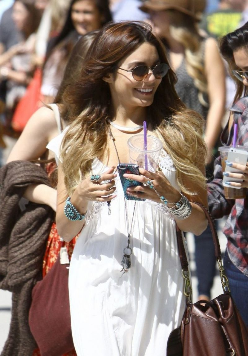 Vanessa Hudgens Out In Hollywood