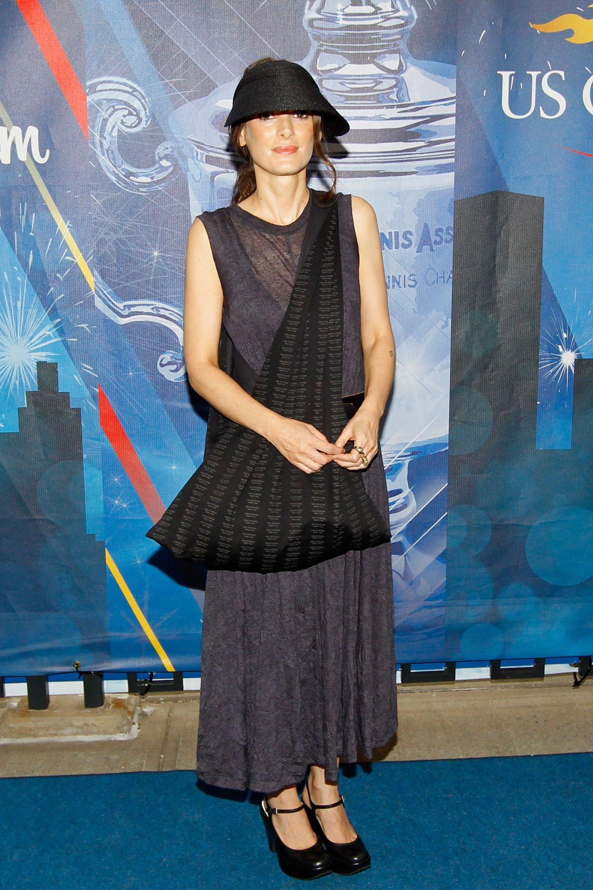 Winona Ryder At 2013 US Open In New York