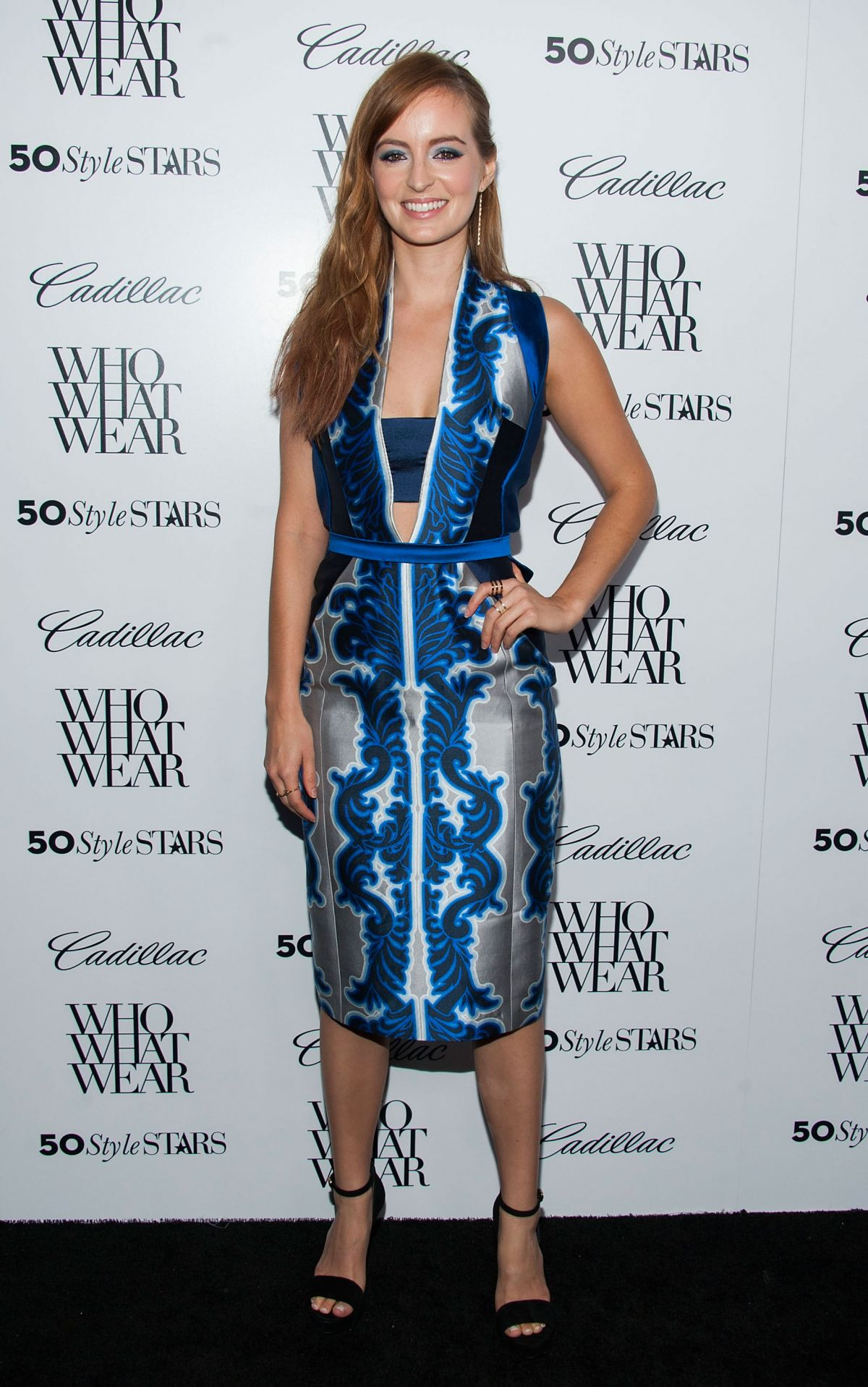 Ahna O Reilly At The 50 Most Fashionable Women Of 2013 Event In West