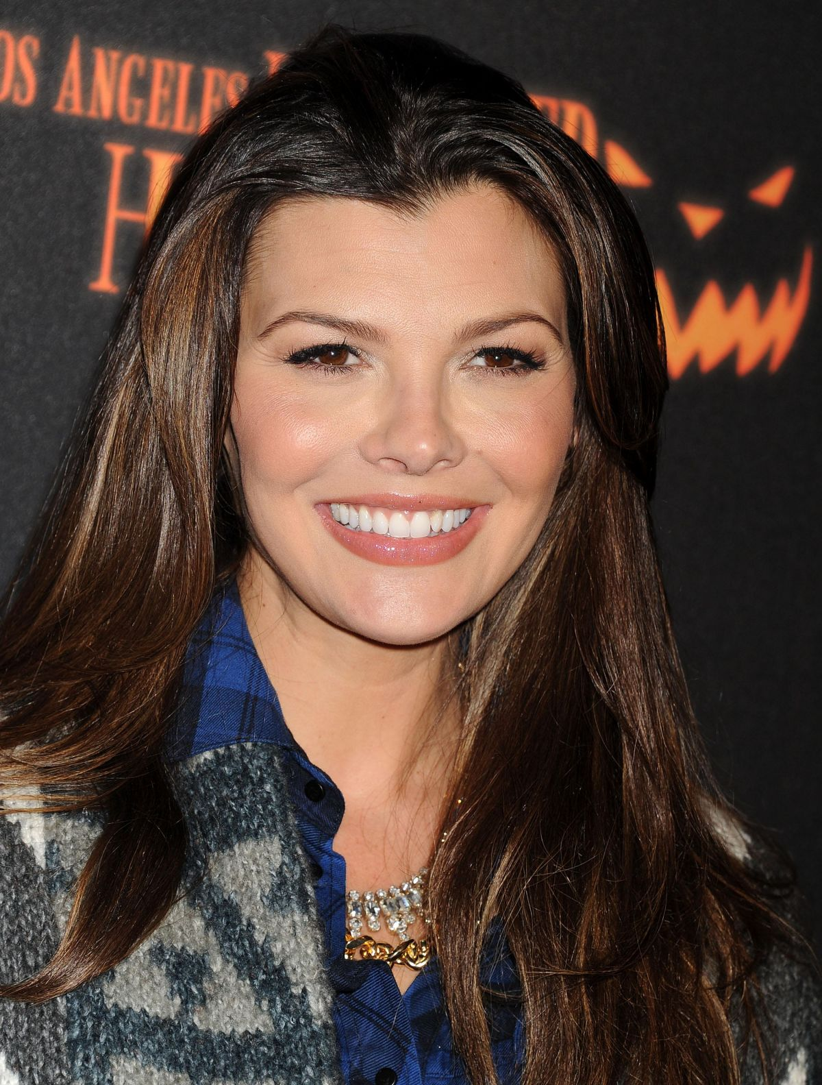 Ali Landry And Kyle Richards At 5th Annual LA Haunted Hayride Opening Night