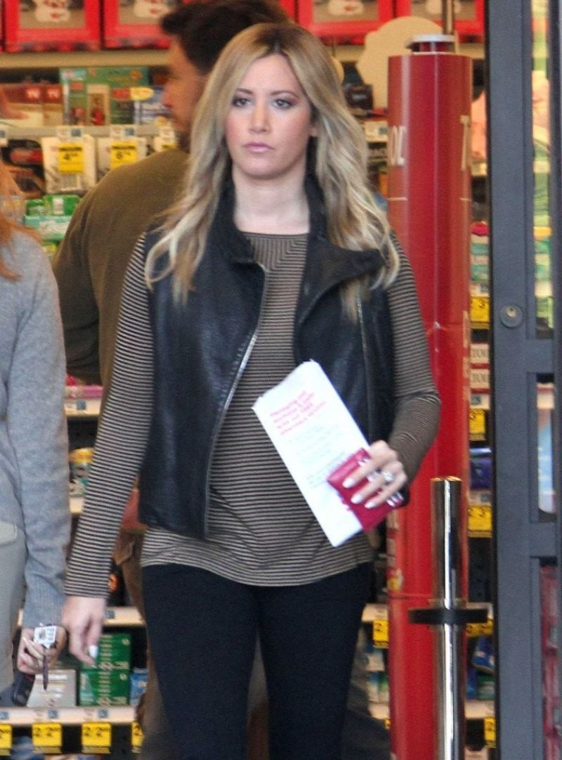 Ashely Tisdale Out And About In Los Angeles