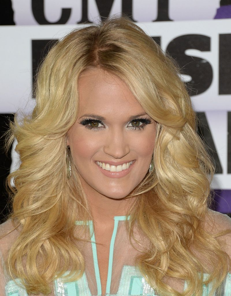 Carrie Underwood At 2013 CMT Music Awards In Nashville