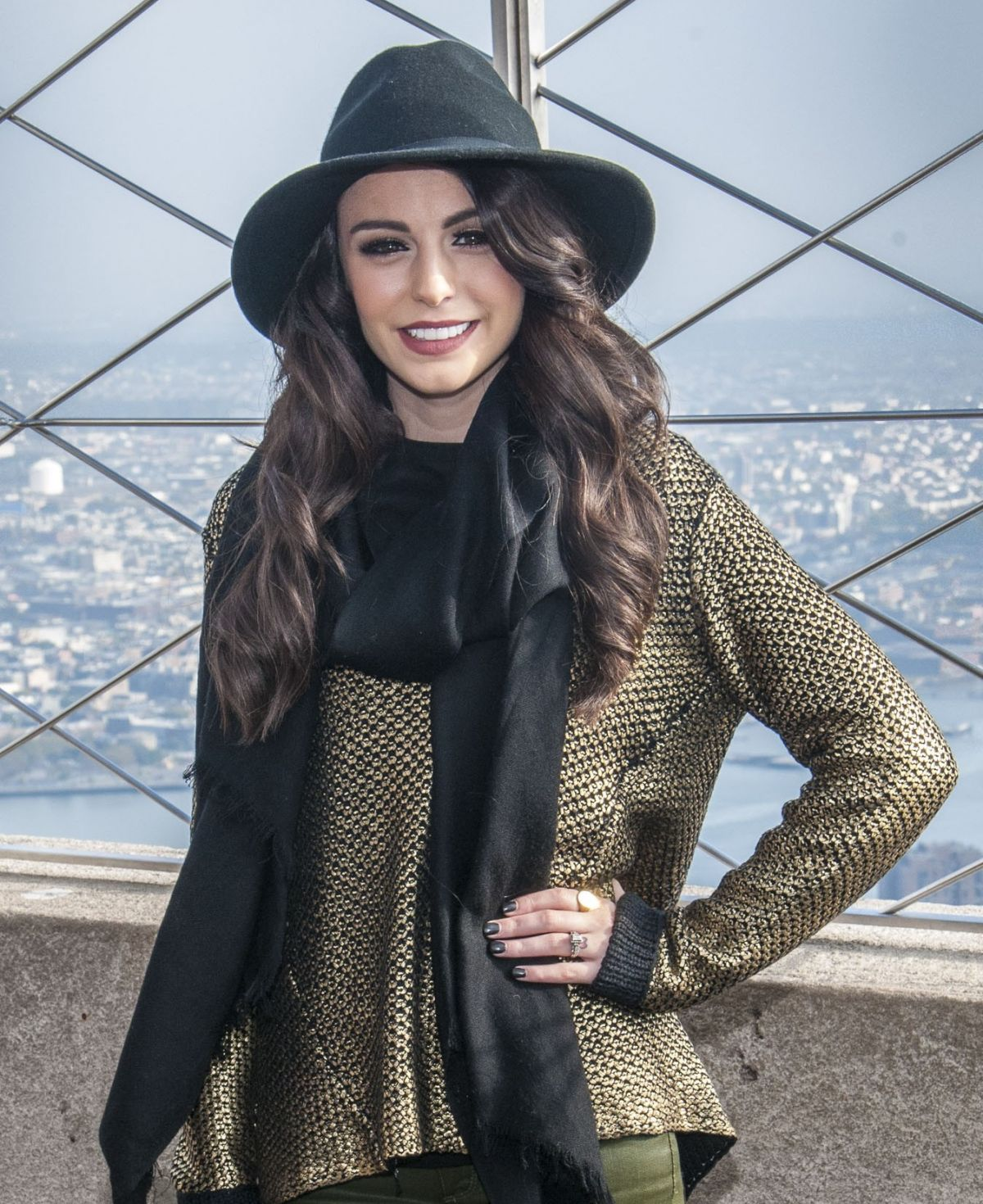 Cher Lloyd At Empire State Building