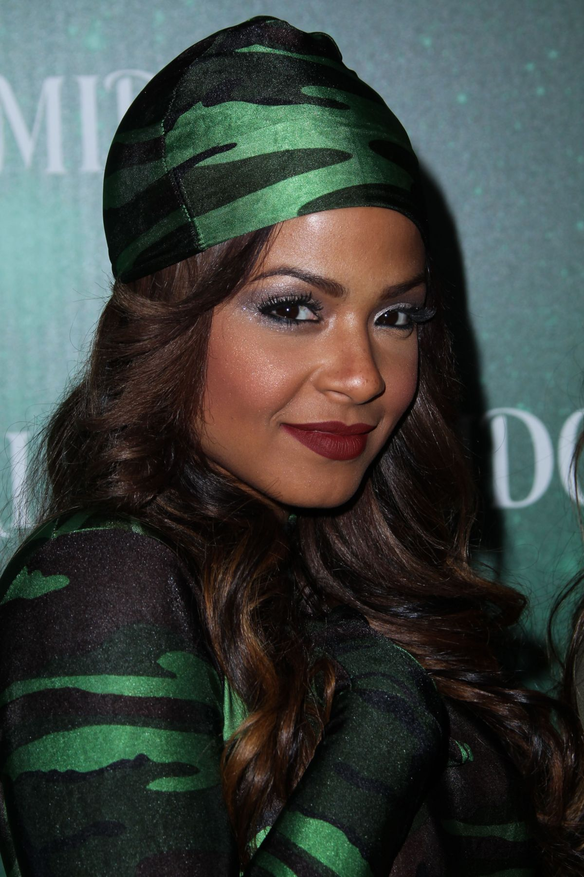 Christina Milian At 3rd Annual Midori Green Halloween Party In West Hollywood